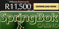 Springbok Online Casino R11'500 Bonus Offer