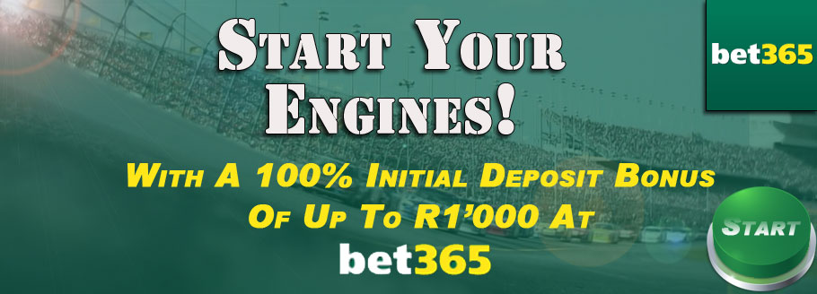 Start Your Engines With A 100% Extra On Your First Deposit