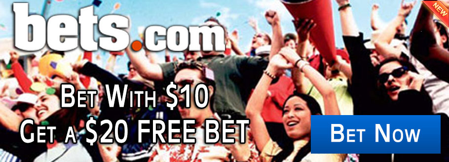 Bet $10 And Gt A $20 Free Bet at Bets.com Sports