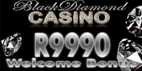 Get The R9990 Welcome Bonus At Black Diamond Casino