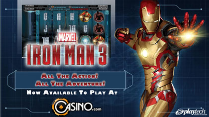 Play The All New Iron Man 3 Video Slot At Casino.com Today!