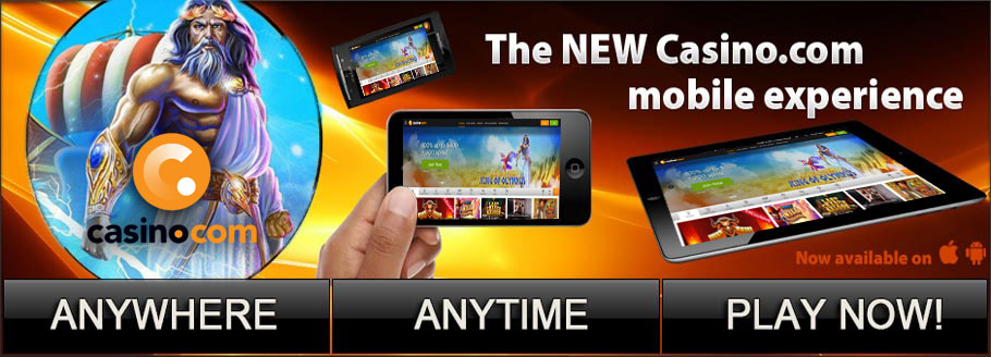 Casino.com - Take Them Everywhere On Your Mobile