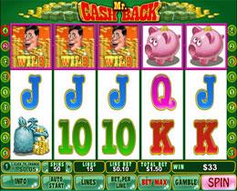 play online casino cashback scene