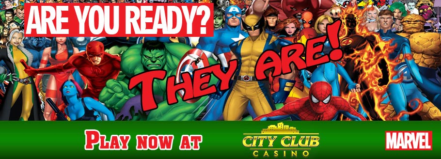 Marvel Themed Slot Games - Are you ready?