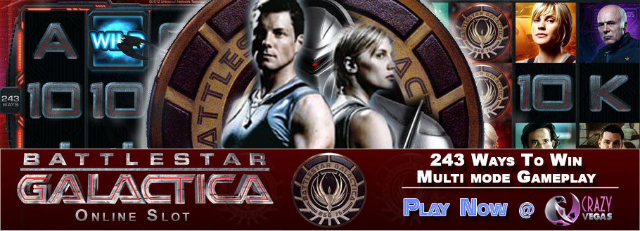 Play Battlestar Galactica Online Slot At Crazy Vegas