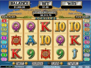 Play Achilles Slot At Jackpot Cash