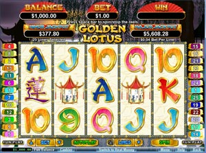Play Golden Lotus At Jackpot Cash