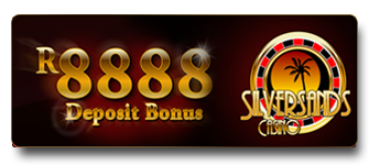 SilverSands Online Casino - Claim your R8888 Welcome Bonus