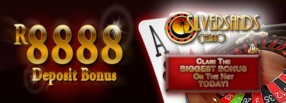 Enjoy The R8'888 Welcome Bonus At SilverSands Online Casino