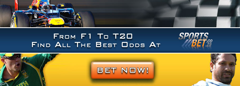 Get The Best Odds On All Your Favourite Sporting Events At SportsBetSA