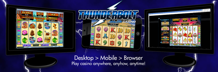 Thunderbolt Mobile Online Casino