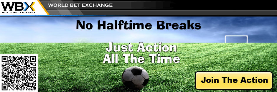 WBX - World Bet Exchange - No Halftime Breaks