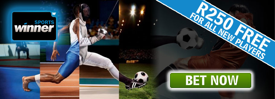 Winner Sports - Get R250 in Free Bets