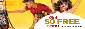 Get 50 Free Spins At Yebo Casino