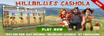 Play The New Hillbillies Cashola At Yebo Casino