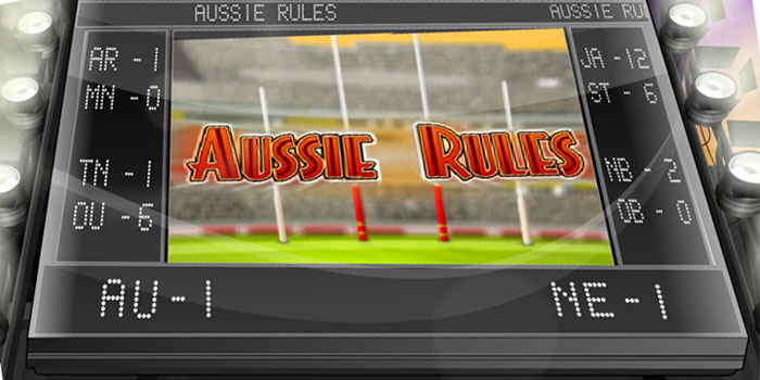 Aussie Rules - Video Slot