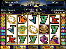 Aztec Treasure Slot Screenshot