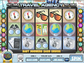 Baby Boomers Cash Cruise Slot Screenshot