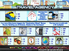 Baby Boomers Cash Cruise Paytable Screenshot