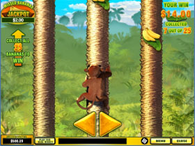 Banana Monkey Bonus Game