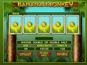 Banana Monkey Gamble Feature