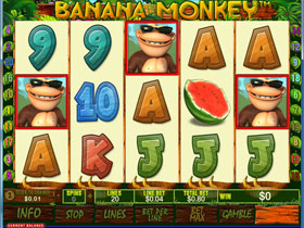 Banana Monkey Slot Screenshot