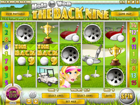 Hole In Won Back Nine Slot Screenshot