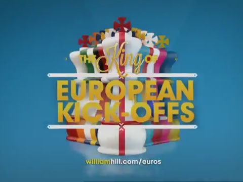 William Hill Sportsbook Euro 2012 Advert